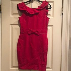 Red Valentino Sleeveless Bow Dress Size 6